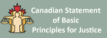 Canadian Statement for Basic Principles for Justice