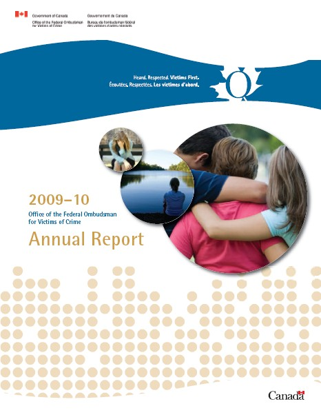 Cover of the Annual Report (2009-2010)