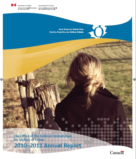 Cover of the Annual Report (2010-2011)